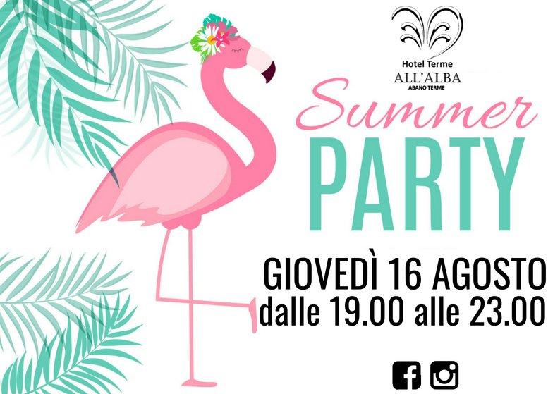 Pool Party - Hotel All'Alba - Abano Terme