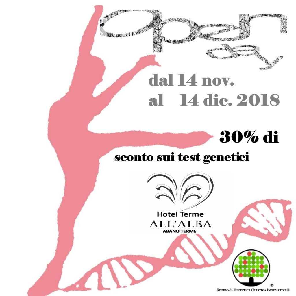 Test del DNA - Open Day 2018